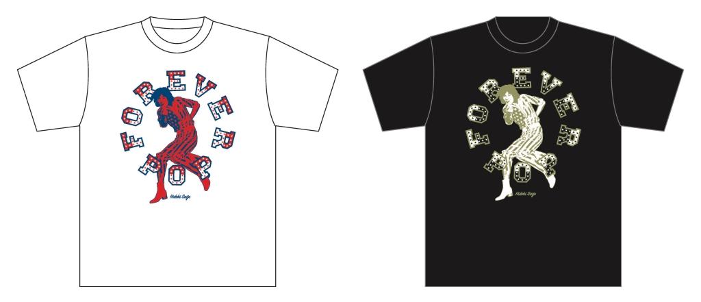 展覧会オリジナル Tシャツ各3,000円