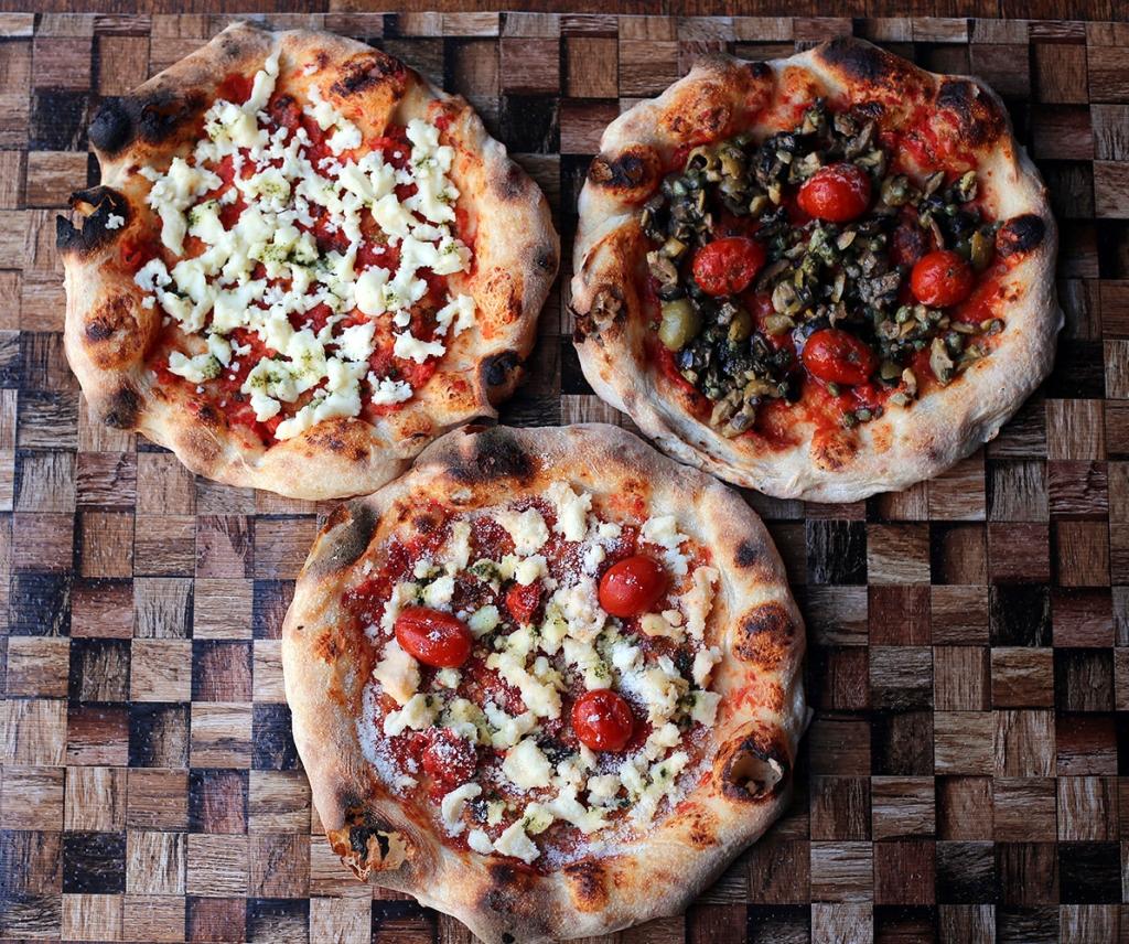 3種のトマトベースセット 「Pizza Tamaki」「Pizza マルゲリータ」「Pizza オリーブ」