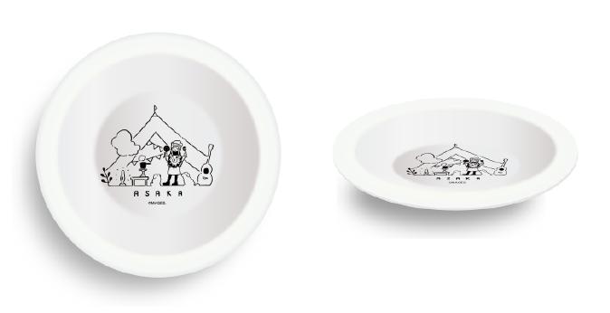 アニソンシンガー「亜咲花」とヴィレッジヴァンガードのコラボ商品 カレー皿