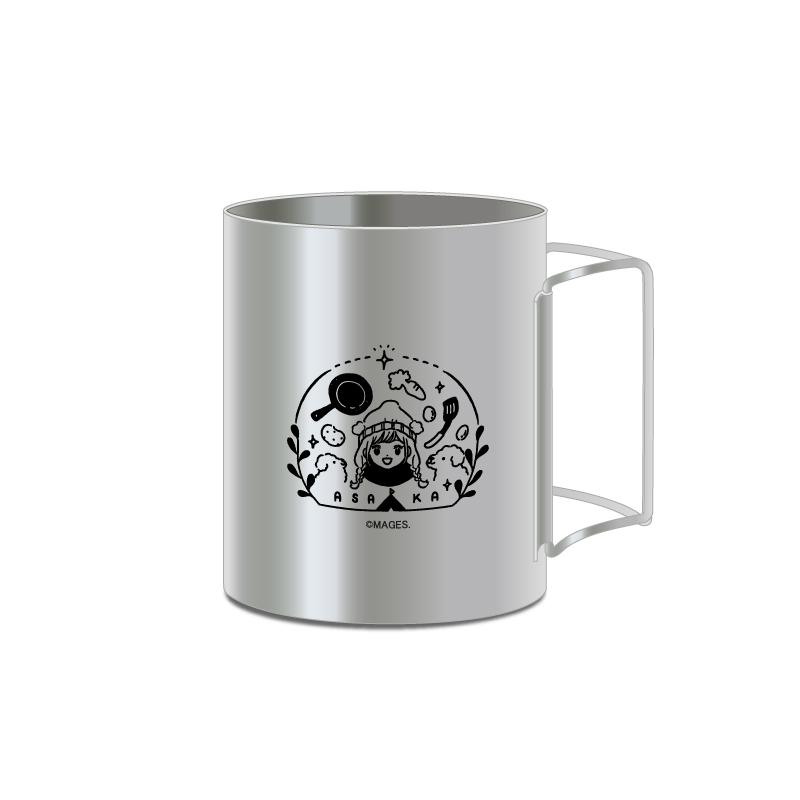アニソンシンガー「亜咲花」とヴィレッジヴァンガードのコラボ商品 ステンレスマグカップ