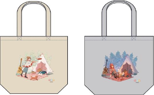 アニソンシンガー「亜咲花」とヴィレッジヴァンガードのコラボ商品 トートバッグ
