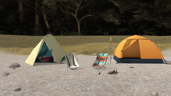 二人だけのまったりとしたキャンプを楽しもう