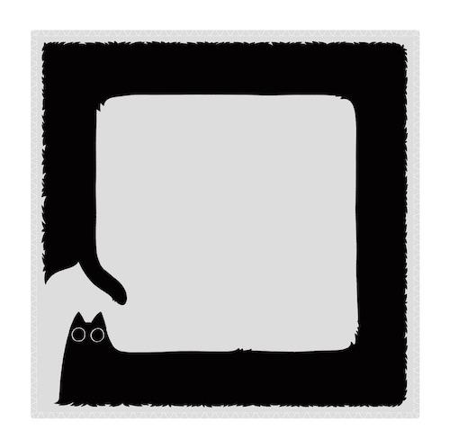 猫のようなナニカ ハンドタオル