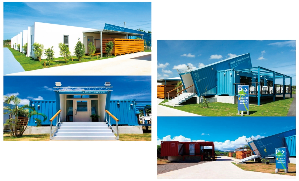 海の家コンテナハウス