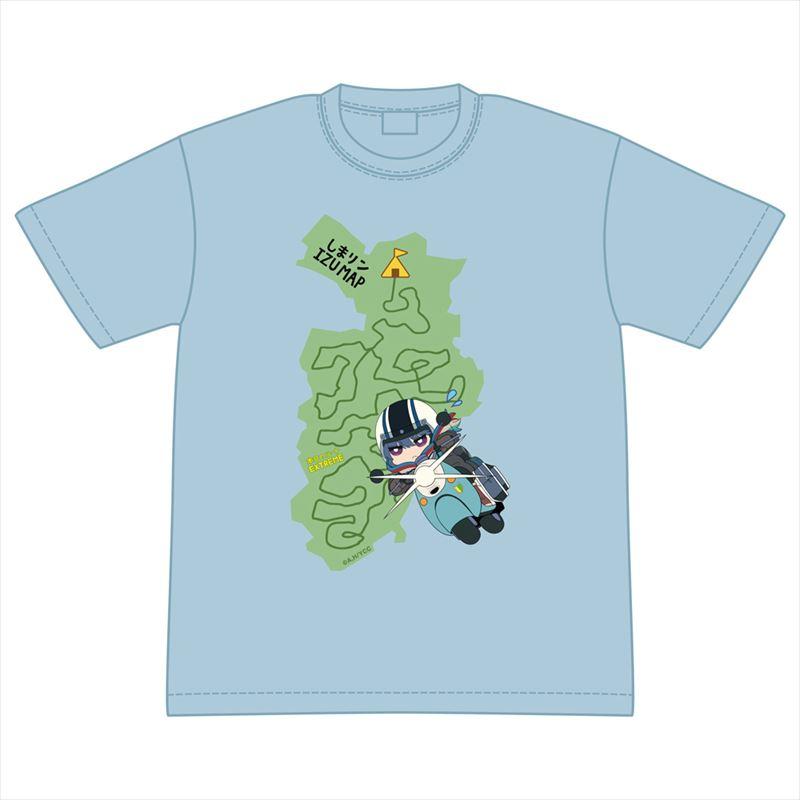 しまリン IZU MAP T シャツ